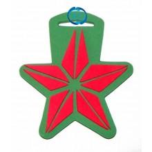 Sello Navidad estrella