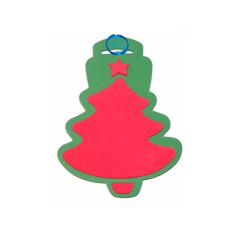 Sello Navidad árbol de navidad