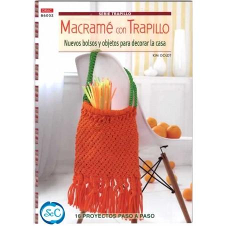 libro DRAC Macramé con Trapillo