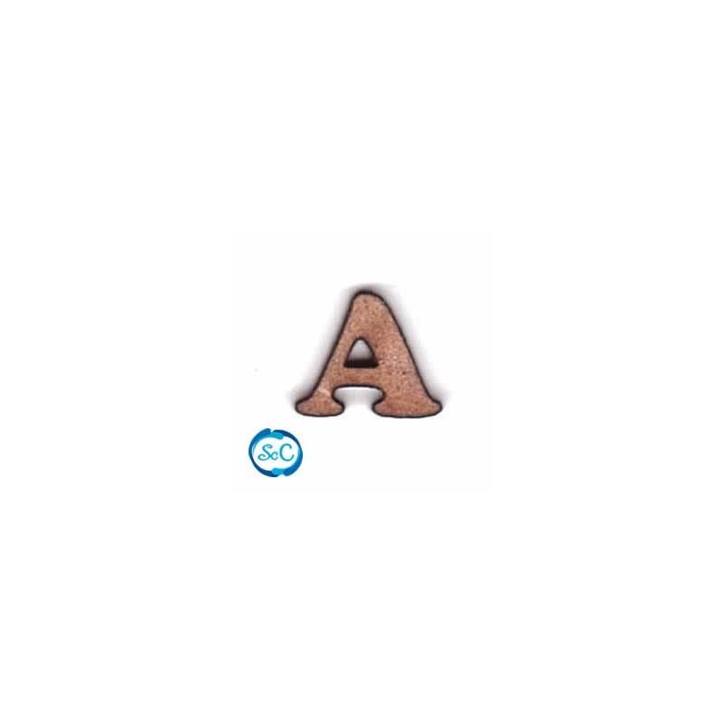 Letra de madera mayúscula A