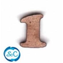 Numero de madera pequeño 1