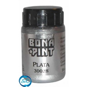 Purpurina Color plata Bonapin