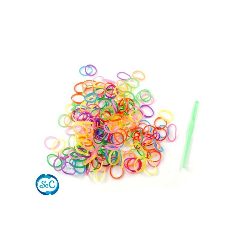 Bolsa gomas colores neon surtidos