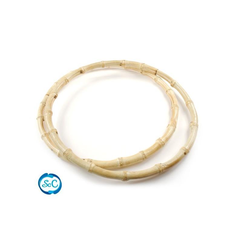 Asas de Bambú redondas 20 cm
