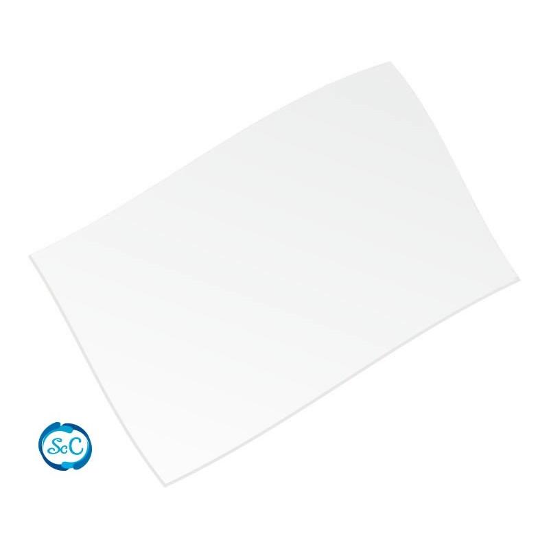 Goma eva blanca 28 x 21 cm, 2 mm