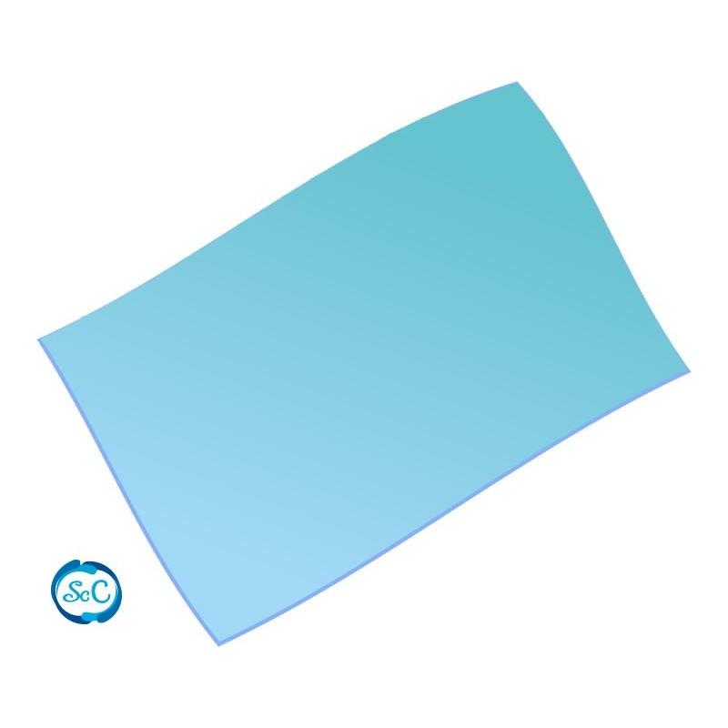 Goma eva Azul Celeste 28 x 21 cm, 2 mm