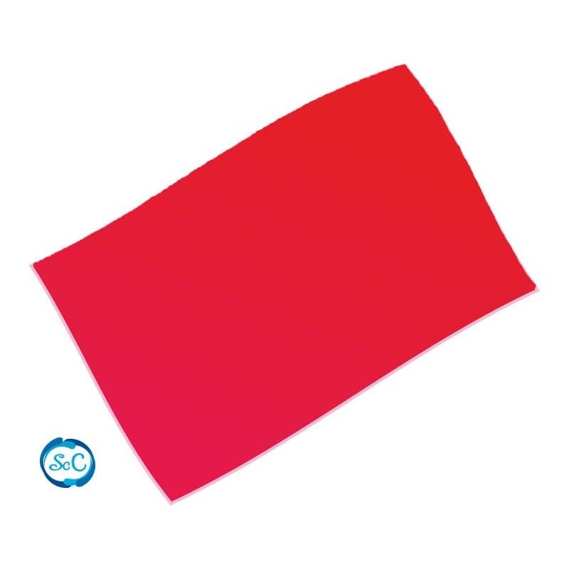 Goma eva Roja 70 x 47 cm, 2 mm