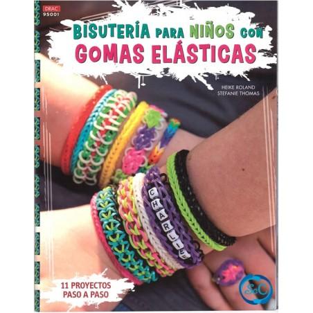 LibroDRAC 95001 Bisutería con gomas elásticas