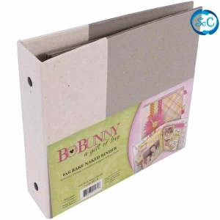 Álbum de cartón gris, carpesano 15 x 15 cm