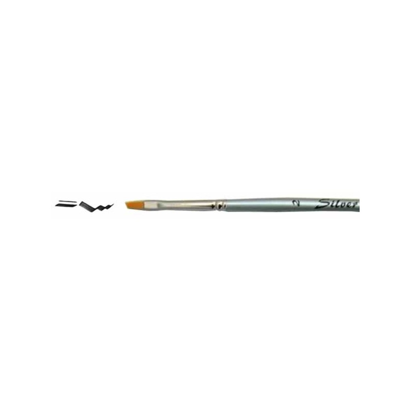 Pincel SilverLine biselado Nº 2 S 9838