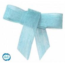 Cinta de yute 4 cm / 1 metro, Azul
