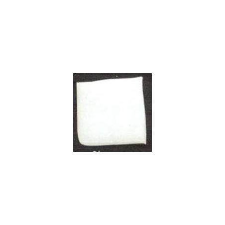 Teselas vidrio blanca para mosaico.