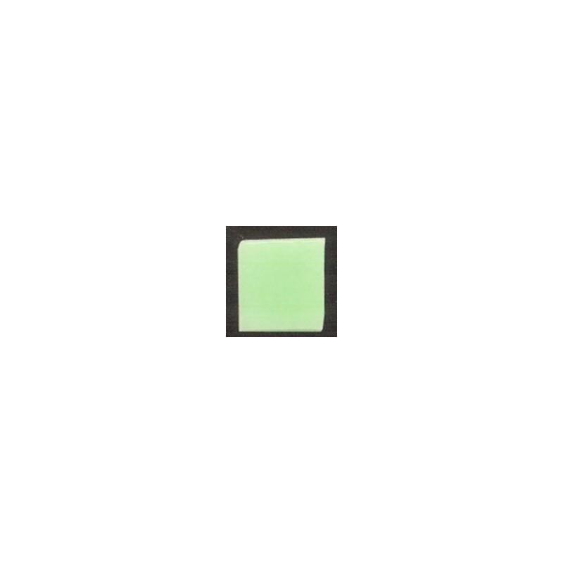 Teselas vidrio verde manzana para mosaico.