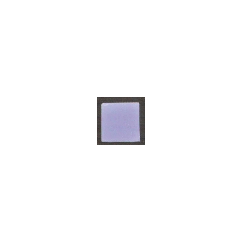 Teselas vidrio azul medio para mosaico.
