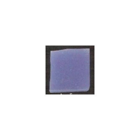 Teselas vidrio azul mar para mosaico.