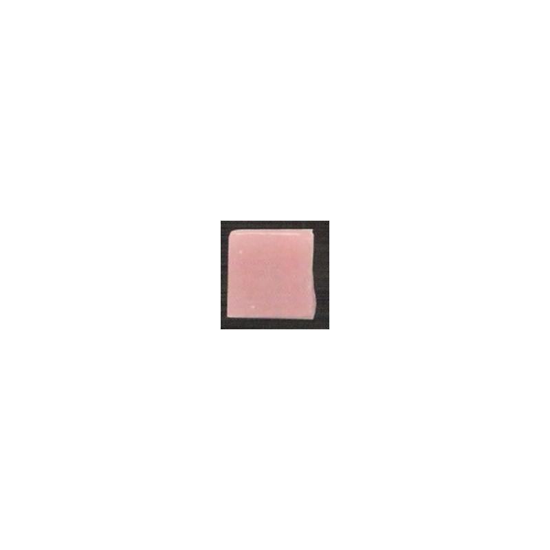 Teselas color rosa palo para mosaico.