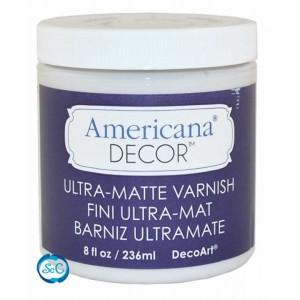 Barniz Americana Decor Ultra Mate, 236 ml ADM05