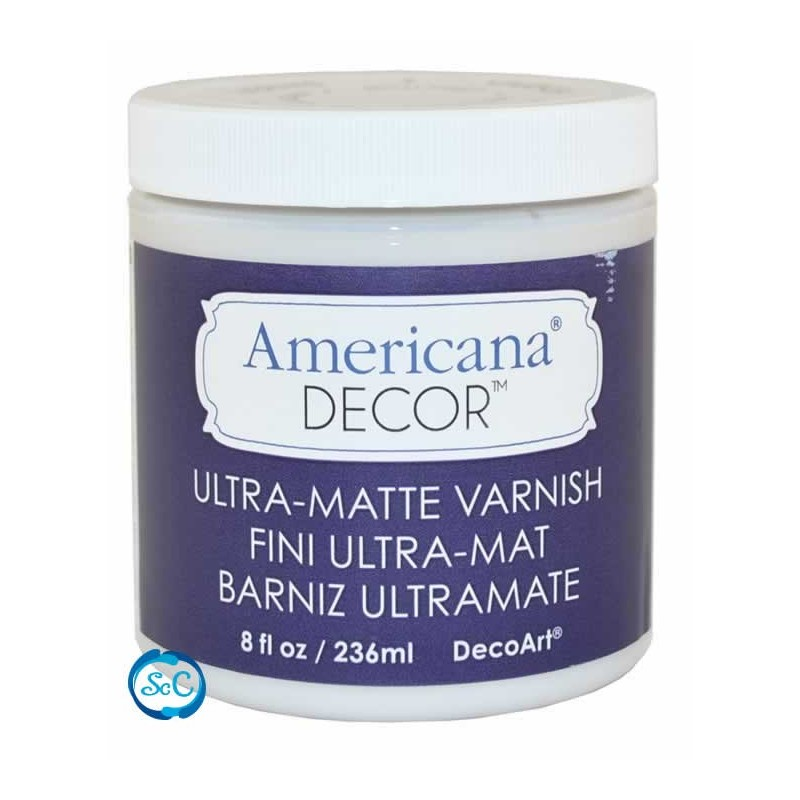 Barniz Americana Decor Ultra Mate, 236 ml ADM05