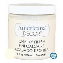 Pintura tiza Chalky Finish Decoart, Crudo Encaje, 236 ml ACD02