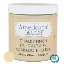Pintura Chalky Finish Decoart, Eterno 236 ml ADC04