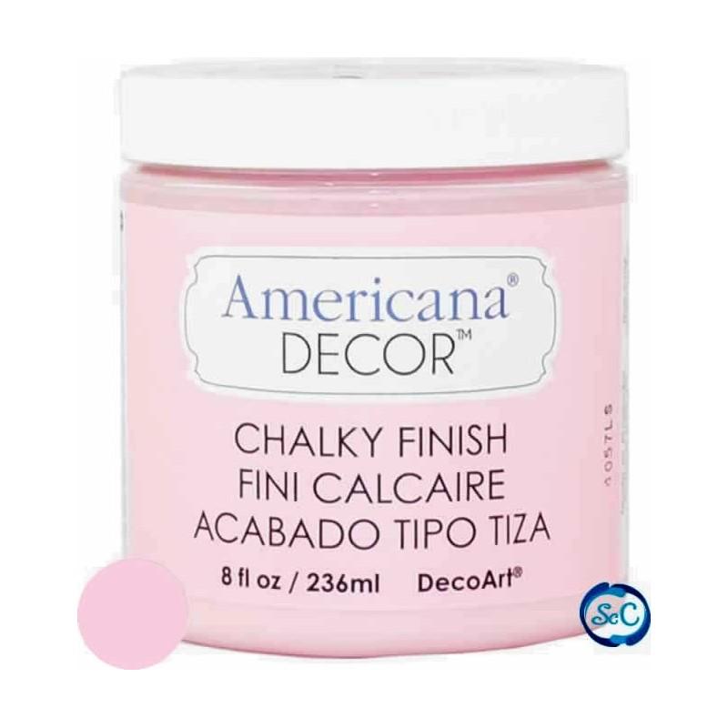 Pintura Chalky Finish Decoart, Rosa Inocencia 236 ml ADC05