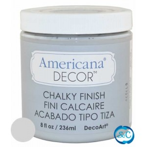 Pintura Chalky Finish Decoart, Gris Antaño 236 ml ADC27