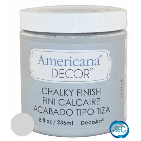 Pintura tiza Chalky Finish Decoart, Gris Antaño 236 ml ADC27