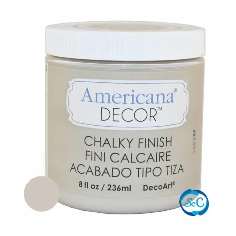 Pintura Chalky Finish Decoart, Gris Primitivo 236 ml ADC26