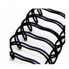 Espiral Zutter Negro para album 2,5 cm x 30,5 cm