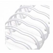 Espiral Zutter Blanco para album 2,5 cm x 30,5 cm