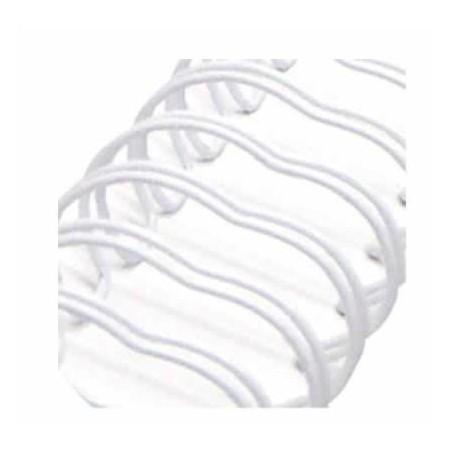 Espiral Zutter Blanco para encuadernar 3,1 cm x 30,5 cm