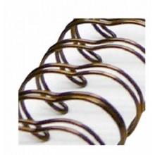 Espiral Zutter Bronce antiguo para album 3,1 cm x 30,5 cm