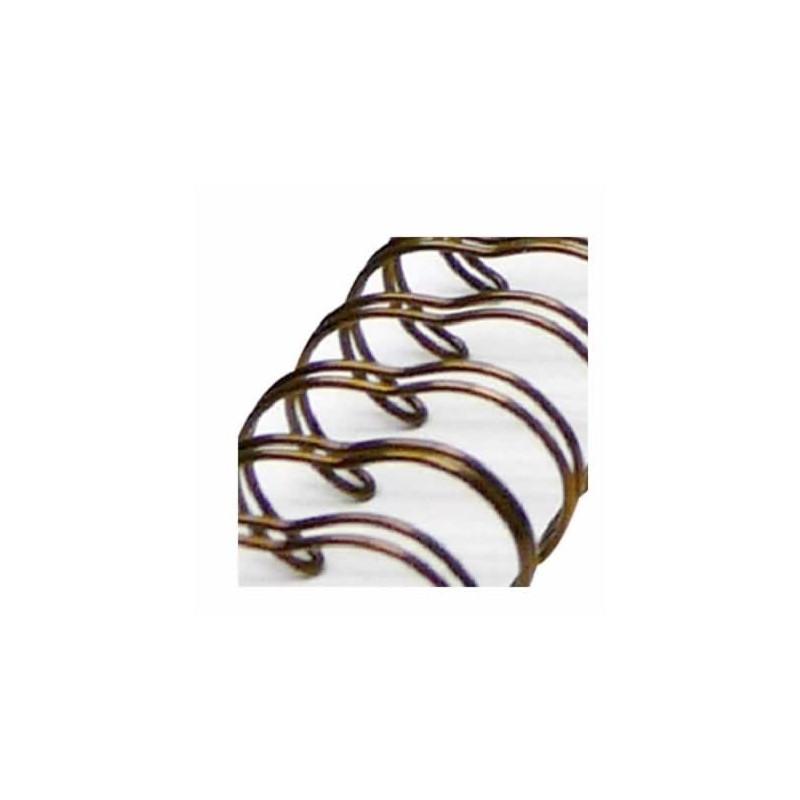 Espiral Zutter Bronce antiguo para album 2,5 cm x 30,5 cm