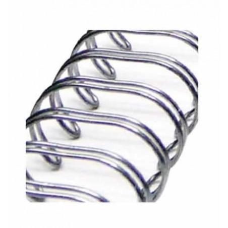 Espiral Plata antigua para album 1,9 cm x 30,5 cm de Zutter