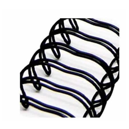 Espiral Negro para album 3/4 x 30,5 cm de Zutter