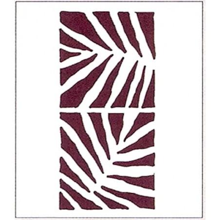 Plantilla para stencil 2 Helechos