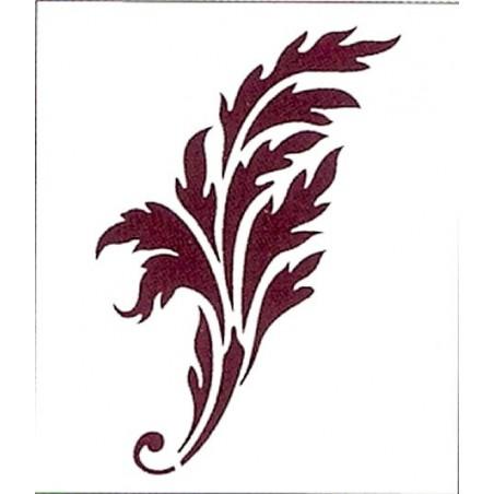 Plantilla para stencil Rama
