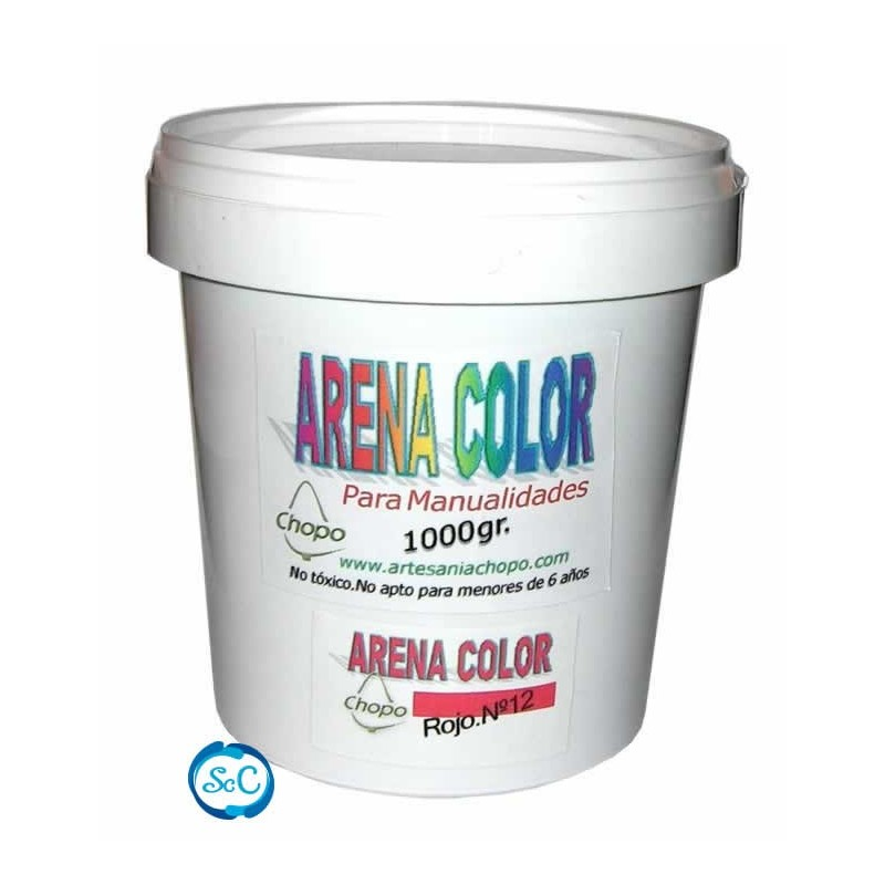 Arenas de colores Chopo para artesania 1 kr