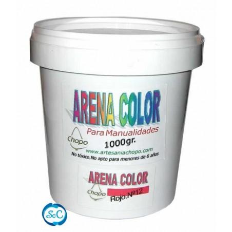 Arenas de colores Chopo para artesania 1 kg
