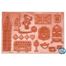 Sello de goma Viaje a Londres