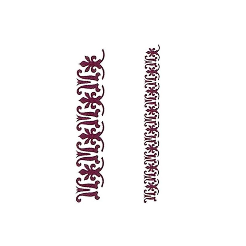 Plantilla para stencil Grecas2