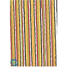 Planchas de goma eva decorada, multicolor rayas verticales P