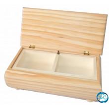 Joyero madera musical 23 x 11 x 8,cm