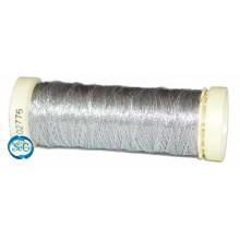 Hilo metalizado bobina 50 metros plata