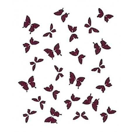 Plantilla para stencil Mariposas mini