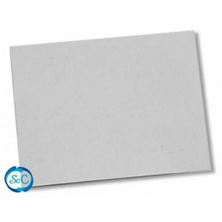 Carton contracolado gris , 35 x 52,5 cm, 1,5 mm de grosor