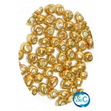 Bolsa rocalla oro, 40 gr