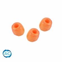 Bolsa de abalorios, rocalla Naranja, 40 gr