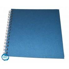 Album espiral craft azul 25 x 25 cm