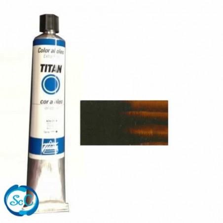 OLEO TITAN 20 cc N-78 S-1 TIERRA SOMBRA TOSTADA